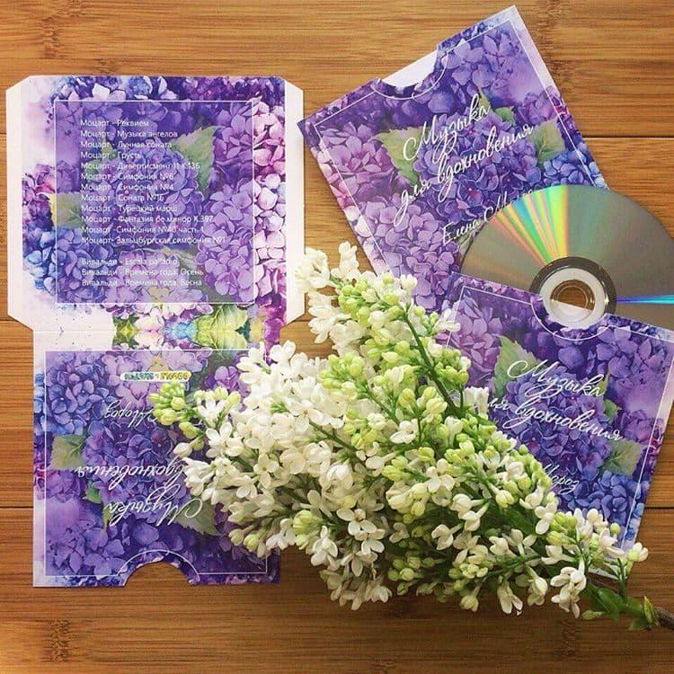 Конверты под CD