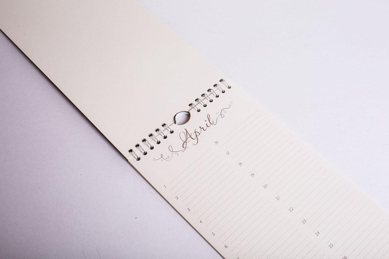 Календарь April
