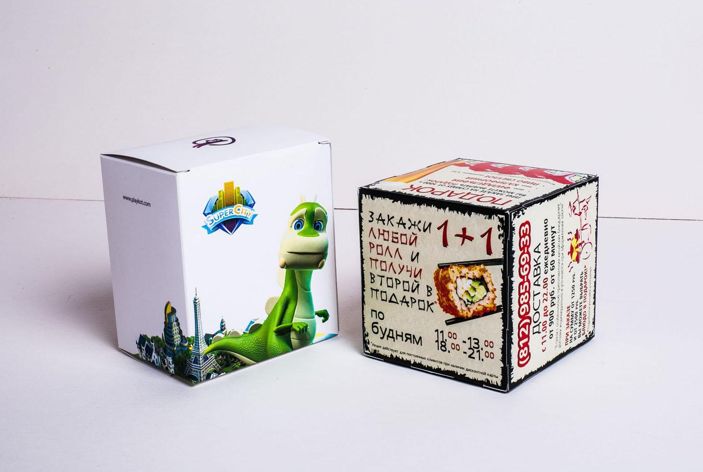 Кубики разные