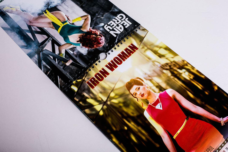 Календарь перекидной Iron Woman